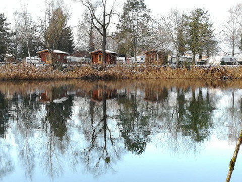 Winter - Holzchalets am See